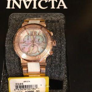 Invicta diamond watch